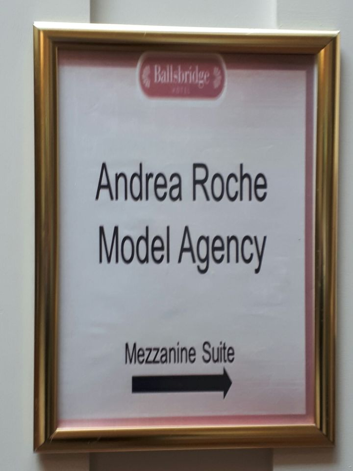 My day with Andrea RocheModeling