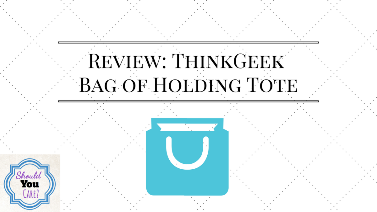 Review: ThinkGeek Bag of Holding Tote