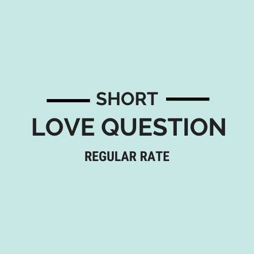 Short Love Question Regular Rate