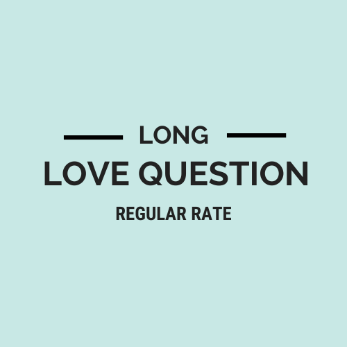 Long Love Question Regular Rate